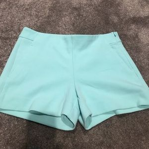 "Banana Republic Shorts - Banana republic 3 1/2"" shorts - green/navy & blue"
